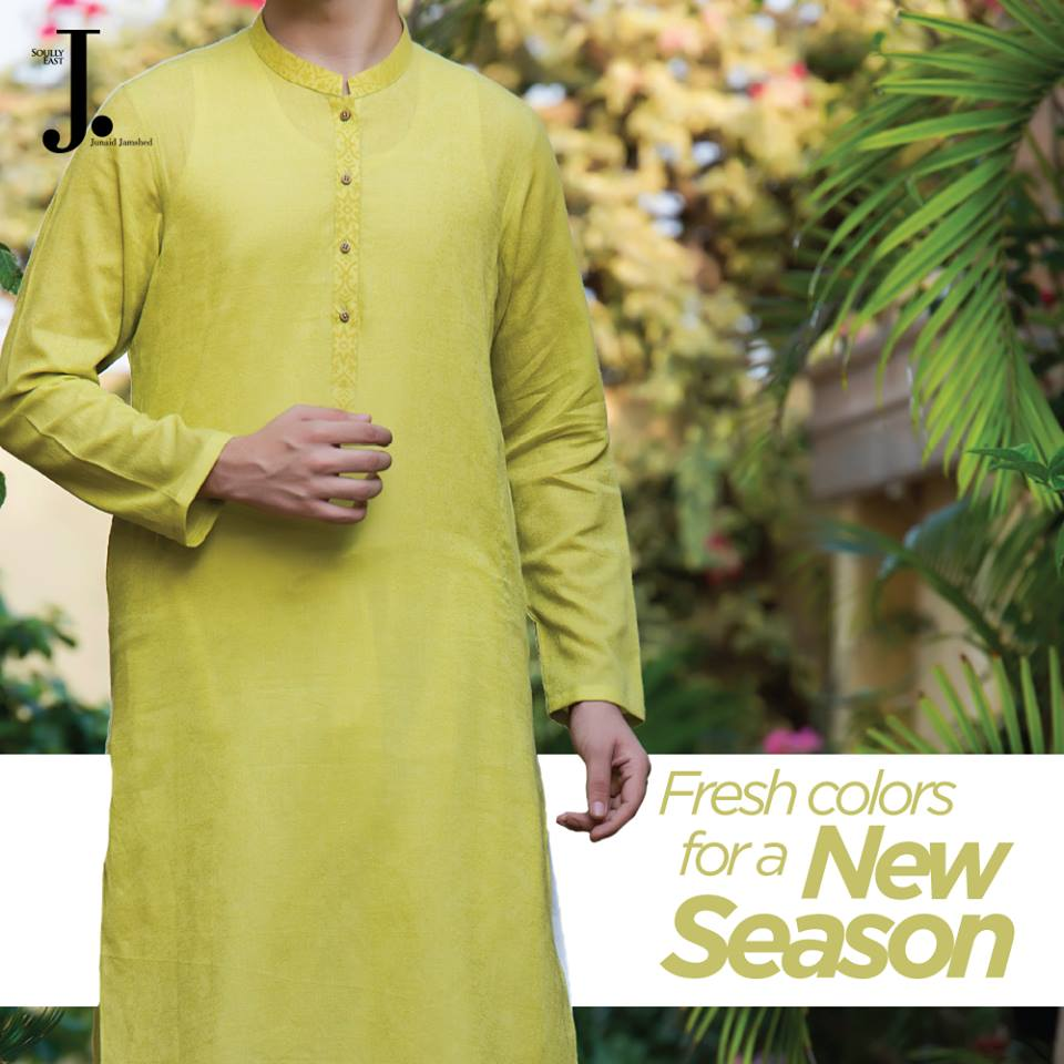 Latest Men Summer Kurta Designs 2017 By J.