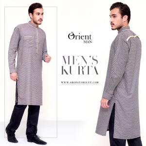 Latest Men Summer Kurta Designs 2017 By Orient Textile