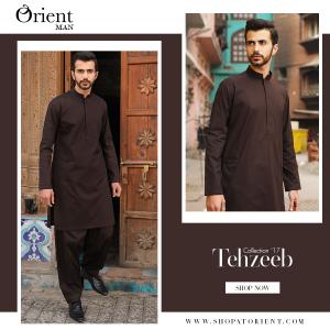 Latest Men Summer Kurta Designs 2017 By Orient Textile