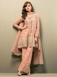Latest Pakistani Eid Dresses 2018 For Women embroidered