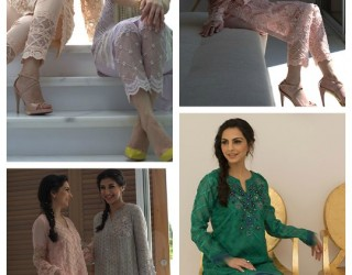 Latest Pakistani Eid Dresses 2018 For Girls & Women