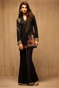 Latest Pakistani Eid Dresses 2018 For Women Jacket Style