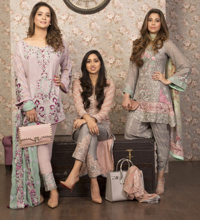 Latest Pakistani Eid Dresses 2018 For Girls