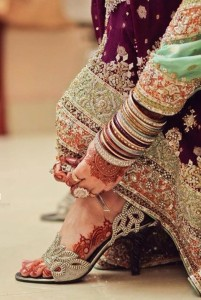 Latest Bridal Shoes 2017 In Pakistan
