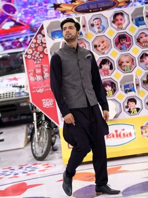 Stylish Waistcoat Designs 2017 For Men In Pakistan Fahad Mustafa Style