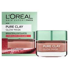 L'Oreal Exfoliate & Refining Pure Clay Treatment Mask