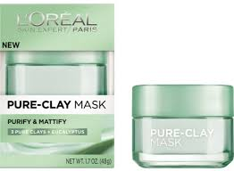 L'Oreal Purify & Mattify Pure Clay Treatment Mask
