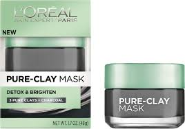 L'Oreal Detox & Brightening Pure Clay Treatment Mask