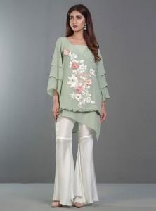 Top Pakistani designer Party Dresses 2017