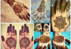 Gol Tikka Mehndi designs 2017 for Hands