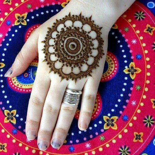 Easy Tikki Mehndi Designs