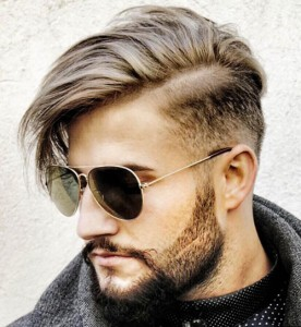Side Swept Hairstyle for Pakistani Boys