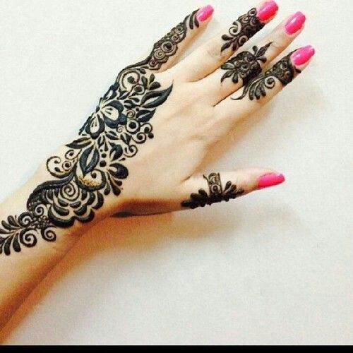 New Arabic Mehndi designs 2017 for Eid