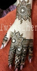 Eid Arabic Mehndi Designs