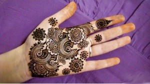 New Arabic Henna Design for Eid