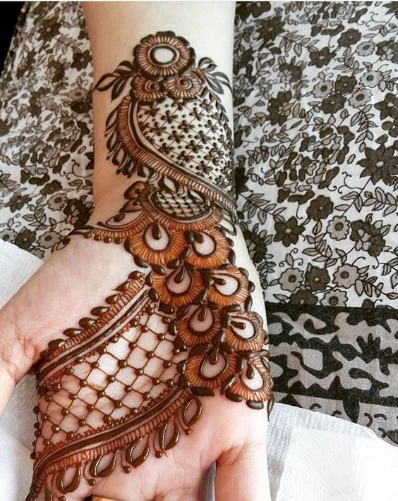 Best Eid Mehndi Designs 2017 Arabic