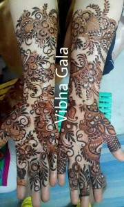 Eid Arabic Mehndi Designs for Full Hands