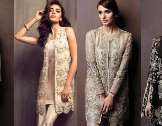 Latest Designer Pakistani Party Wear Dresses 2017 for Women