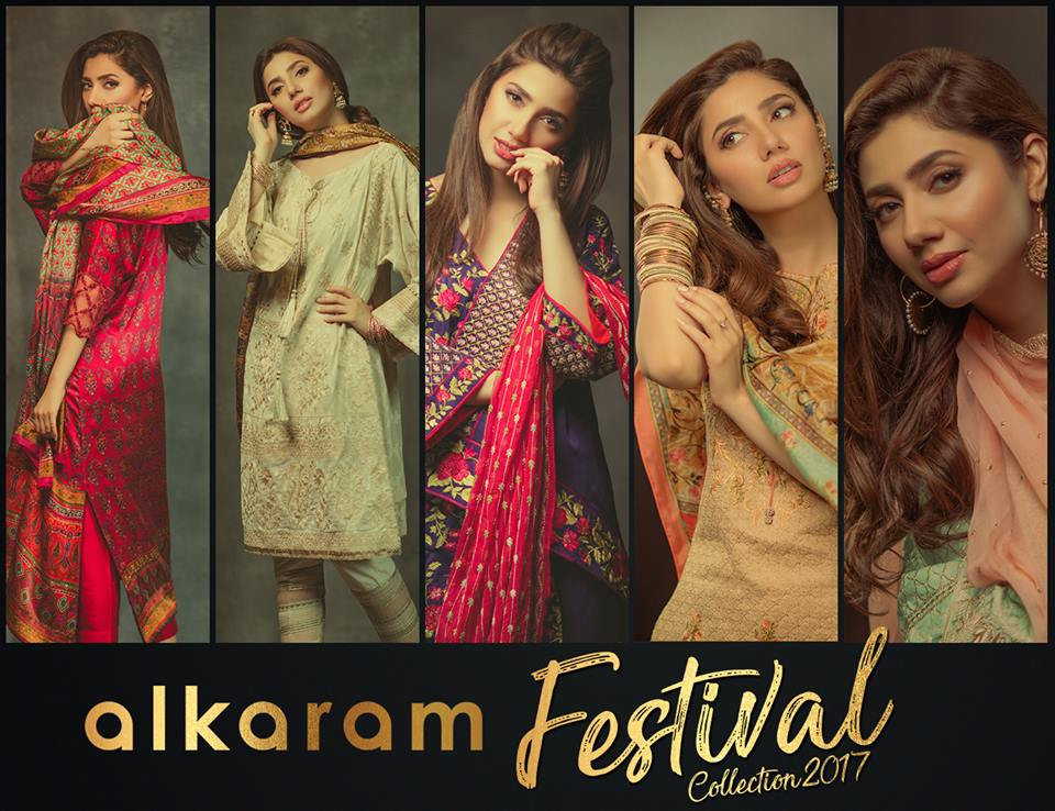 Alkaram Festival Collection 2017