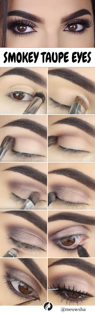 Simple Eid Smokey Eye Makeup Step by Step