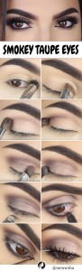 Simple Eid Eye Makeup Step by Step in Mauve