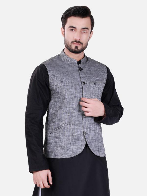 Edenrobe Grey Waistcoat Design 2020