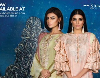 Khaadi Eid Collection 2017 Lawn & Chiffon Dresses