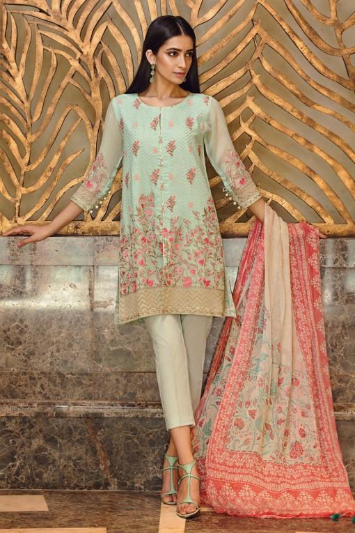 Khaadi Green Eid Wear Outfit