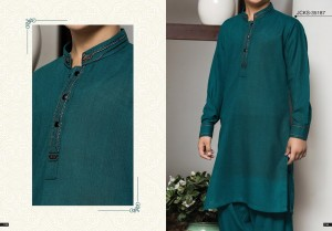 J. Embroidered Gents Kurta for Eid 2018