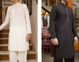 Latest Men Eid Kurta Collection 2017 by Junaid Jamshed