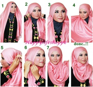 Everyday Hijab Styles Step by Step tutorials 2017