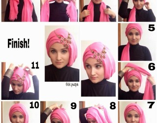 Modern Hijab Styles Step by Step Tutorials 2018