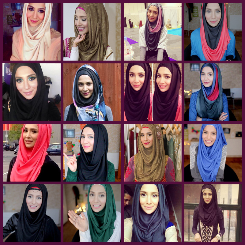 modern and easy hijab styles 2018 step by step picture and video tutorials