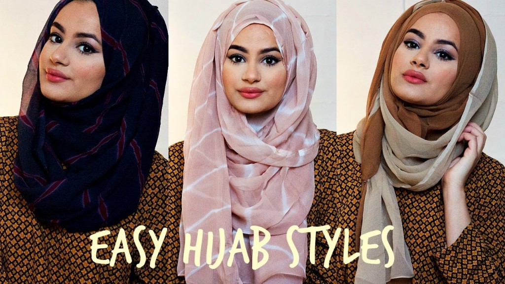 modern and easy hijab styles 2018 for casual and formal events