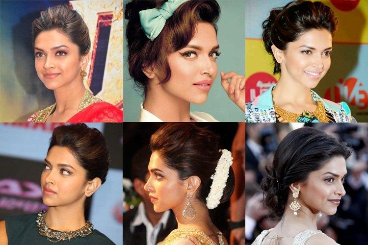 Deepika Padukone Inspired Hairstyles