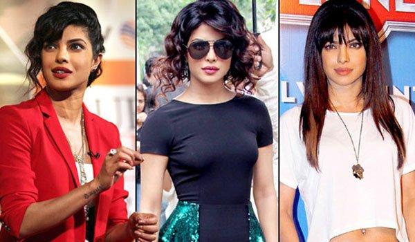 Priyanka Chopra Inspired Hairstyles for Girls