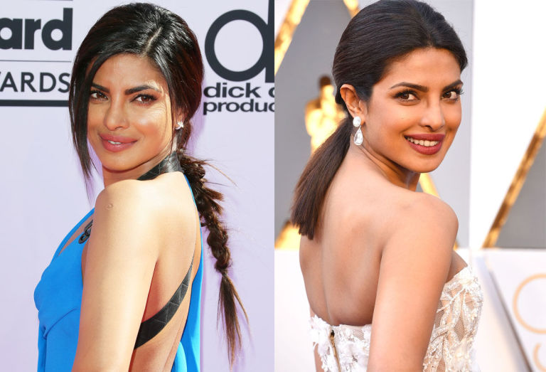 Priyanka Chopra Inspired Hairstyles Photos
