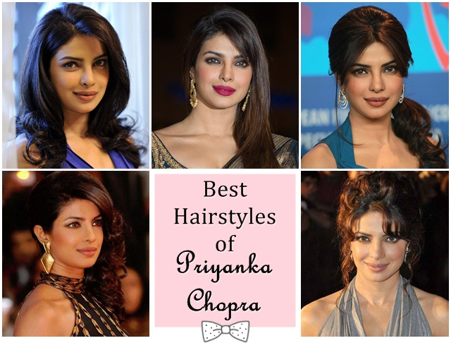 Best Priyanka Chopra Inspired Hairstyles