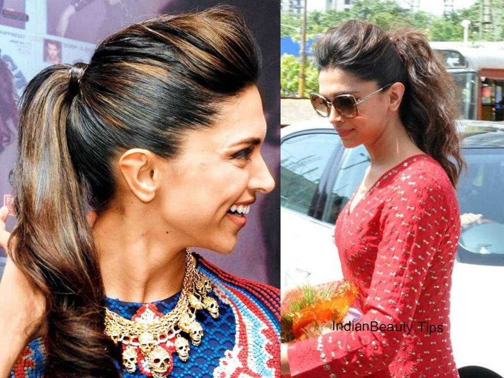 Deepika Padukone Puff Hairstyle
