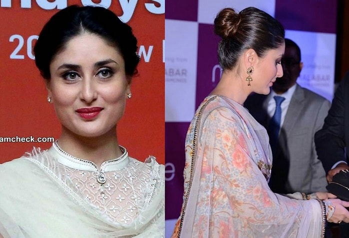 Kareena Kapoor Hairstyle in Lehenga