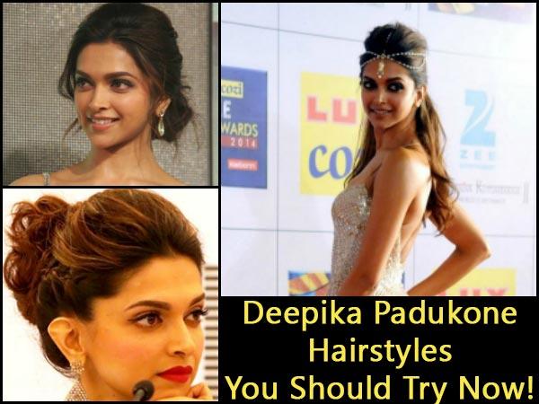Deepika Padukone best Hairstyles