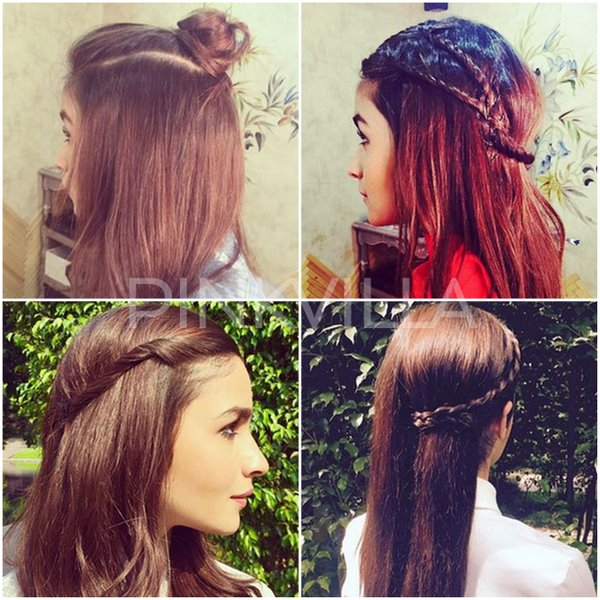 Alia Bhatt Inspired Hairstyles for Pakistani and Indian girls