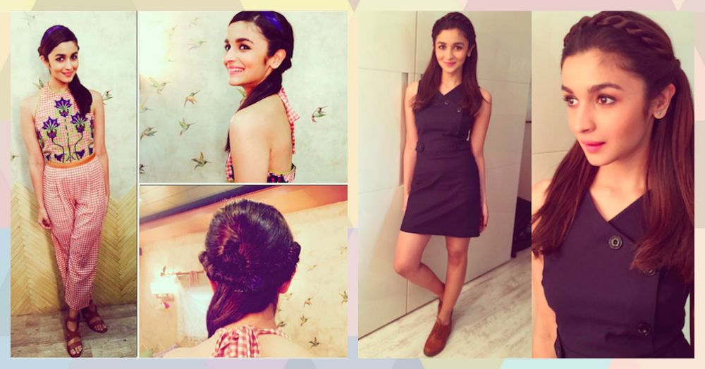 Alia Bhatt Inspired Hairstyles for Parties