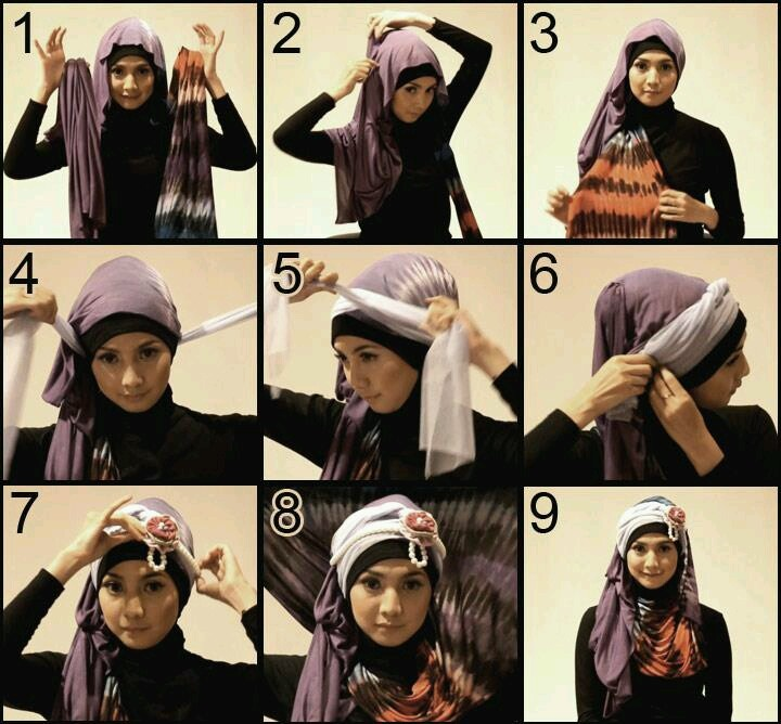 Formal Hijab Styles Step by Step Tutorials 2018