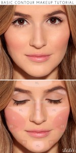 Basic Contour, Highlighting and Blush Tutorial for Beginners