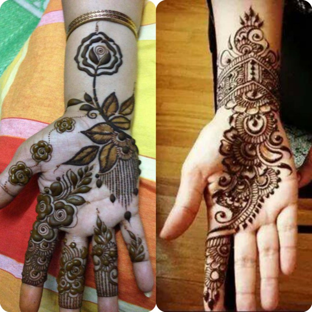 Beautiful Punjabi Mehandi Designs for Full Hands