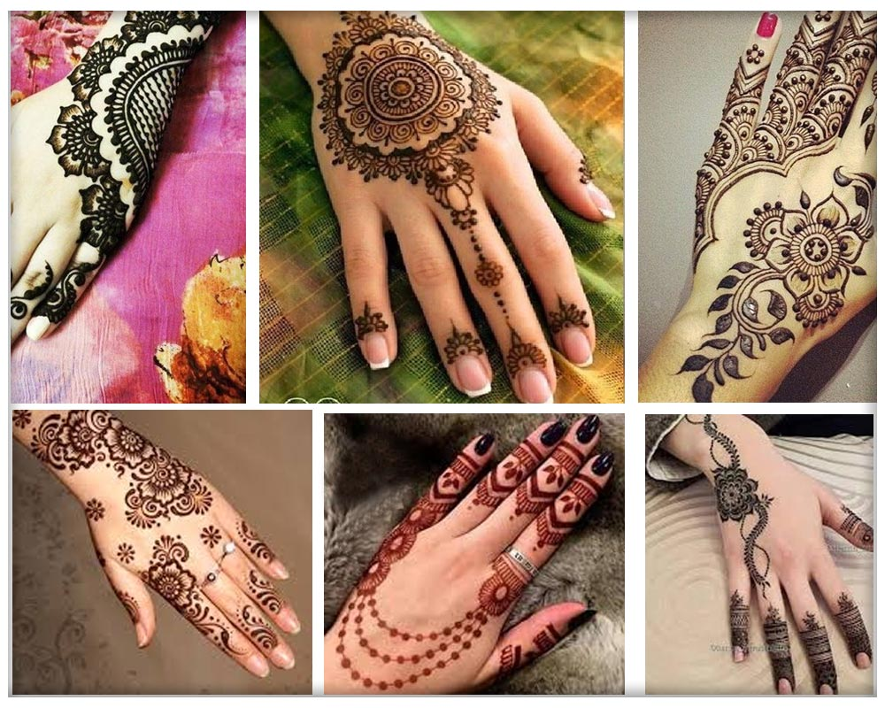 Easy Punjabi Mehndi Designs