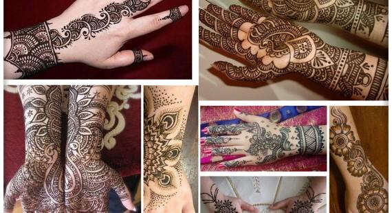 Easy Punjabi Mehndi Designs for Full Hands