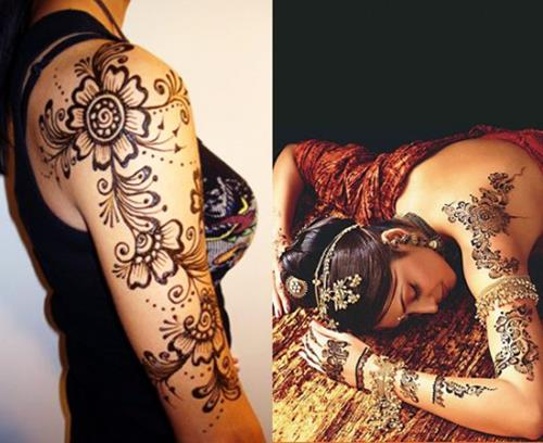 New Punjabi bridal Henna Patterns for Arms