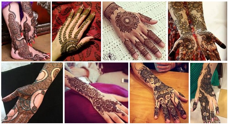 Easy Punjabi Mehndi Designs 2018